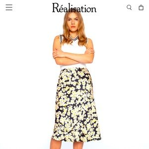 Realisation par Naomi skirt flower power xsmall